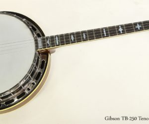 SOLD!  Gibson TB-250 Tenor Banjo, 1966