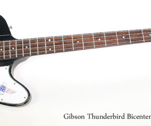 SOLD!  1976 Gibson Thunderbird Bicentennial Bass Black