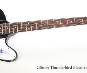 SOLD!  1976 Gibson Thunderbird Bicentennial Bass Black
