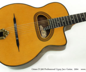 2004 Gitane D500 Professional Gypsy Jazz Guitar (consignment)  SOLD