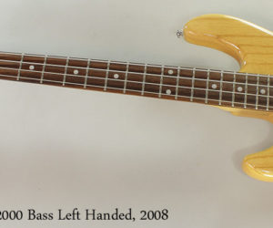 ❌SOLD❌  G-L Tribute L-2000 Bass Left Handed, 2008