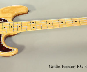 2017 Godin Passion RG-4 Bass Guitar