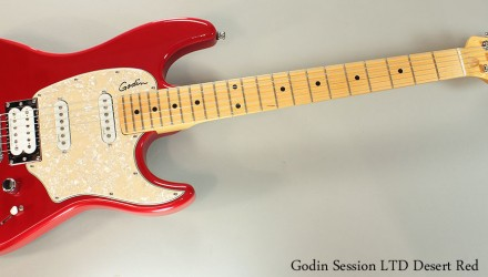 Godin-Session-LTD-Desert-Red-Full-Front-View