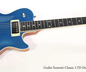 SOLD!!! 2017 Godin Summit Classic LTD Desert Blue