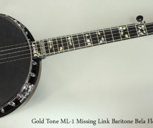 Gold Tone ML-1 Missing Link Baritone Bela Fleck Banjo