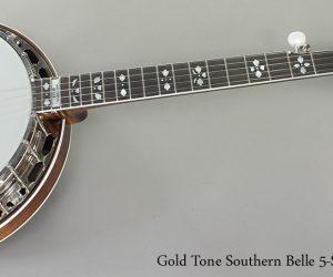 Gold Tone Southern Belle 5-String Banjo  SOLD