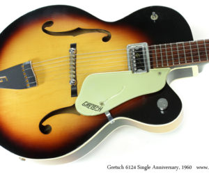 1960 Gretsch 6124 Single Anniversary (Consignment)  SOLD