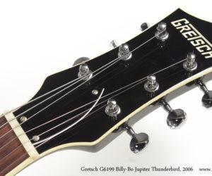 2006 Gretsch G6199 Billy-Bo Jupiter Thunderbird (consignment) NO LONGER AVAILABLE