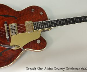 SOLD!!! 1959 Gretsch Chet Atkins Country Gentleman 6122