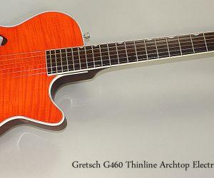 SOLD!! 1997 Gretsch G460 Thinline Archtop Guitar  SOLD
