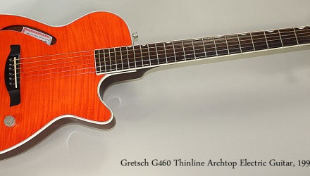 Gretsch-G460-Thinline-Archtop-Electric-Guitar-1997-Full-Front-View