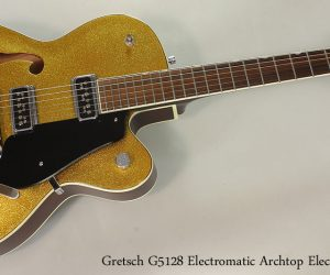 2005 Gretsch G5128 Electromatic Archtop Electric (SOLD)