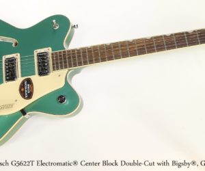 Gretsch G5622T Electromatic® Center Block Double-Cut with Bigsby®, Georgia Green