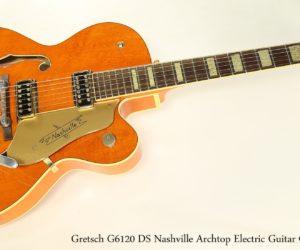 Gretsch G6120 DS Nashville Archtop Electric Guitar Orange, 2003