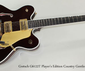2016 Gretsch G6122T Player's Edition Country Gentleman