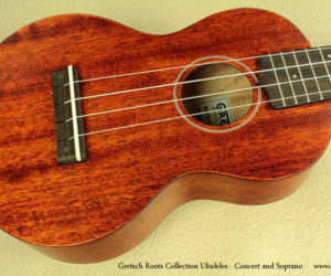 Gretsch Roots Collection Soprano and Concert Ukuleles