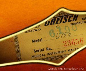 Gretsch 6190 Streamliner 1957 SOLD