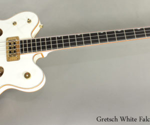 SOLD!  2006 Gretsch White Falcon Bass G6136LSB