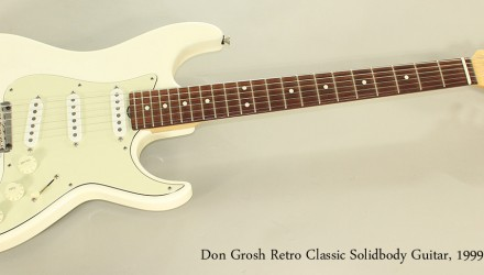 Don-Grosh-Retro-Classic-Solidbody-Guitar-1999-Full-Front-View