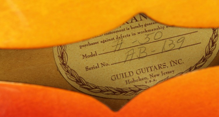 Guild-A50-Cordoba-Archtop1966-label