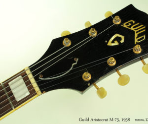 Guild Aristocrat M-75,  1958  (SOLD)