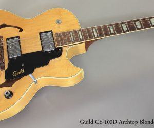 1975 Guild CE-100D Archtop Electric  SOLD