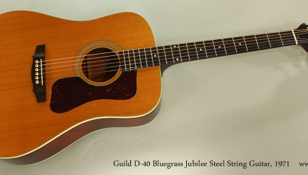 Guild-D-40-Bluegrass-Jubilee-Steel-String-Guitar-1971-Full-Front-View