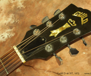 1975 Guild D-40 NT Dreadnought (consignment) SOLD