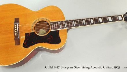 Guild-F-47-Bluegrass-Steel-String-Acoustic-Guitar-1965-Full-Front-View