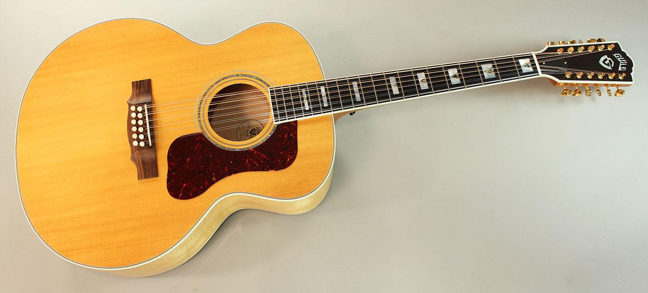 2011 guild f 412 12 string acoustic guitar. Black Bedroom Furniture Sets. Home Design Ideas