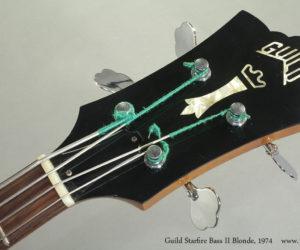 1974 Guild Starfire Bass II Blonde (SOLD)