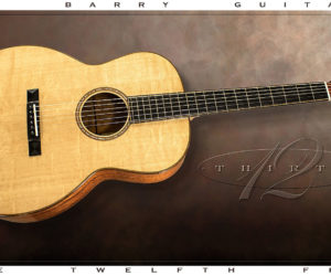 SOLD!!! G W Barry 30-12 Koa 000+ Steel String Guitar 2016