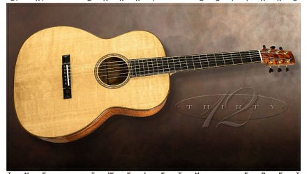 G-W-Barry-30-12-Koa-000+-Steel-String-Guitar-2016-Full-Front-View