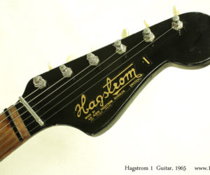 1965 Hagstrom 1 Bass and Guitar Set (consignment) SOLD