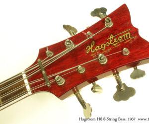 1967 Hagstrom H8 8-String Bass NO LONGER AVAILABLE