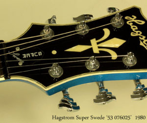 Hagstrom Super Swede 1980 (consignment) SOLD