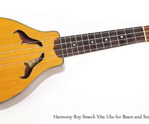 SOLD!!! 1930s Harmony Roy Smeck Vita Ukulele