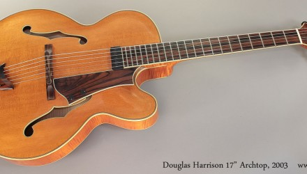 Douglas-Harrison-17-Archtop-2003-Full-Front-View