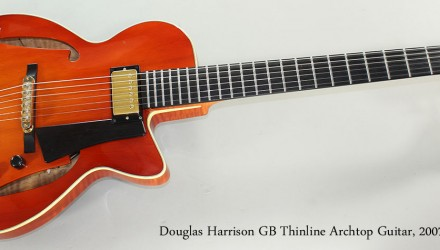 Douglas-Harrison-GB-Thinline-Archtop-Guitar-2007-Full-Front-View
