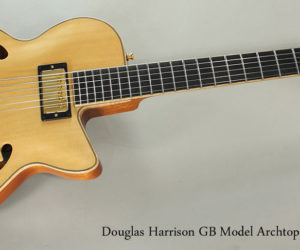 Passing Through- 2016 Douglas Harrison GB Custom Archtop Guitar