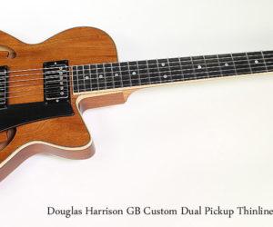 2015 Douglas Harrison GB Custom Dual Pickup Thinline Archtop