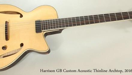 Harrison-GB-Custom-Acoustic-Thinline-Archtop-2016-Full-Front-View