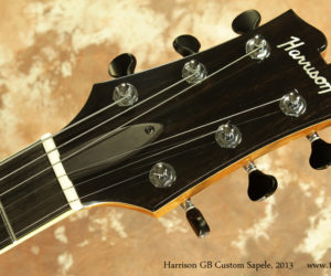 2013 Harrison GB Custom Sapele Pomelle  SOLD