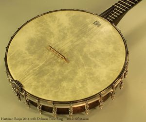 Hartman Frailing Banjo with Dobson style tone ring 2011  SOLD