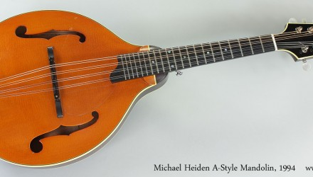 Michael-Heiden-A-Style-Mandolin-1994-Full-Front-View