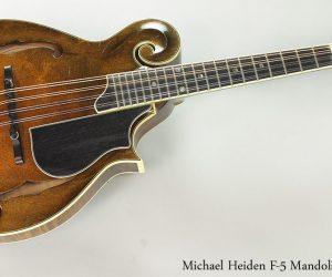 1999 Michael Heiden F-5 Mandolin