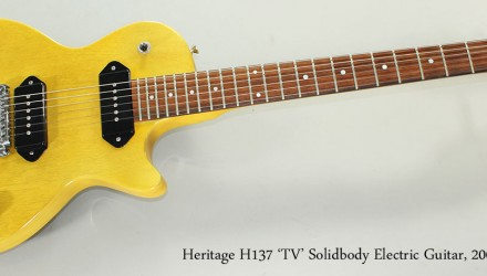 Heritage-H137-TV-Solidbody-Electric-Guitar-2008-Full-Front-View