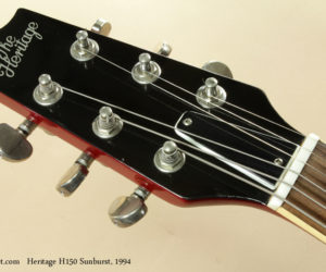 1994 Heritage H150 Sunburst (consignment) SOLD