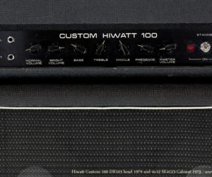 1979 Hiwatt Custom 100 head and 1975 Hiwatt SE4123 cabinet SOLD
