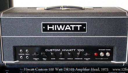 Hiwatt-Custom-100-Watt-DR103-Amplifier-Head-1975-Full-Front-View